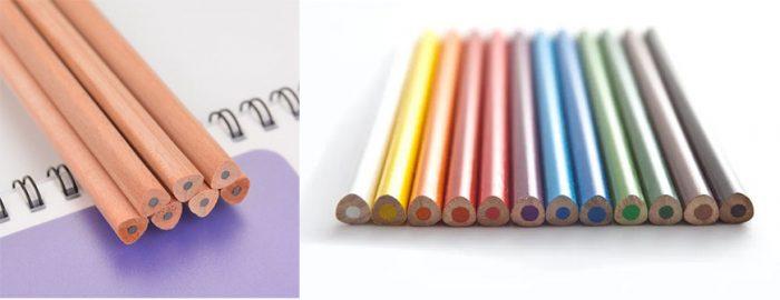 bút chì tam giác